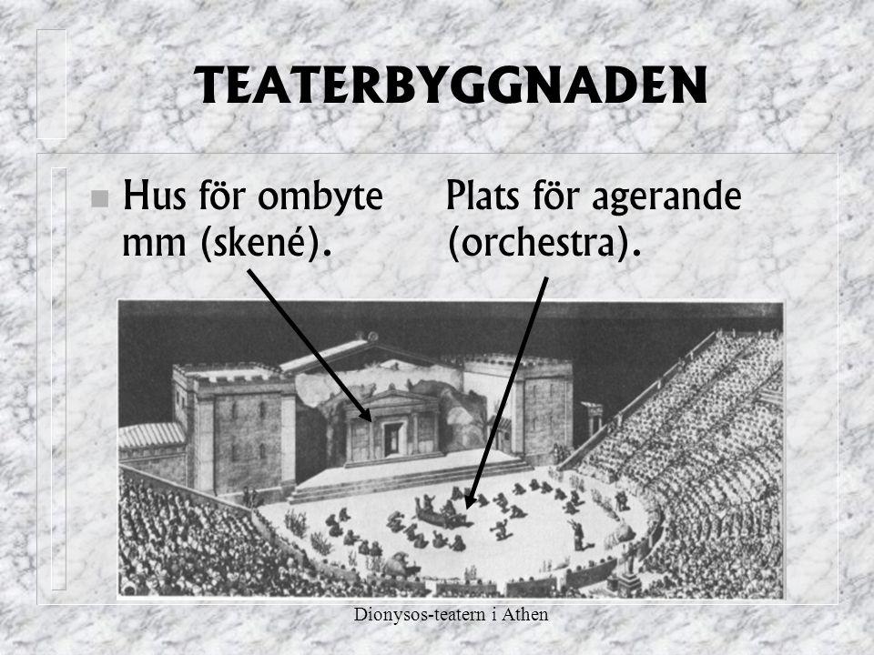 Dionysos-teatern i Athen