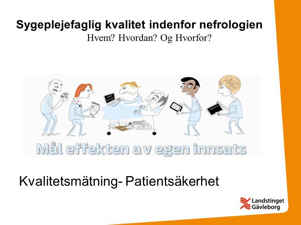 Kvalitetsmätning- Patientsäkerhet