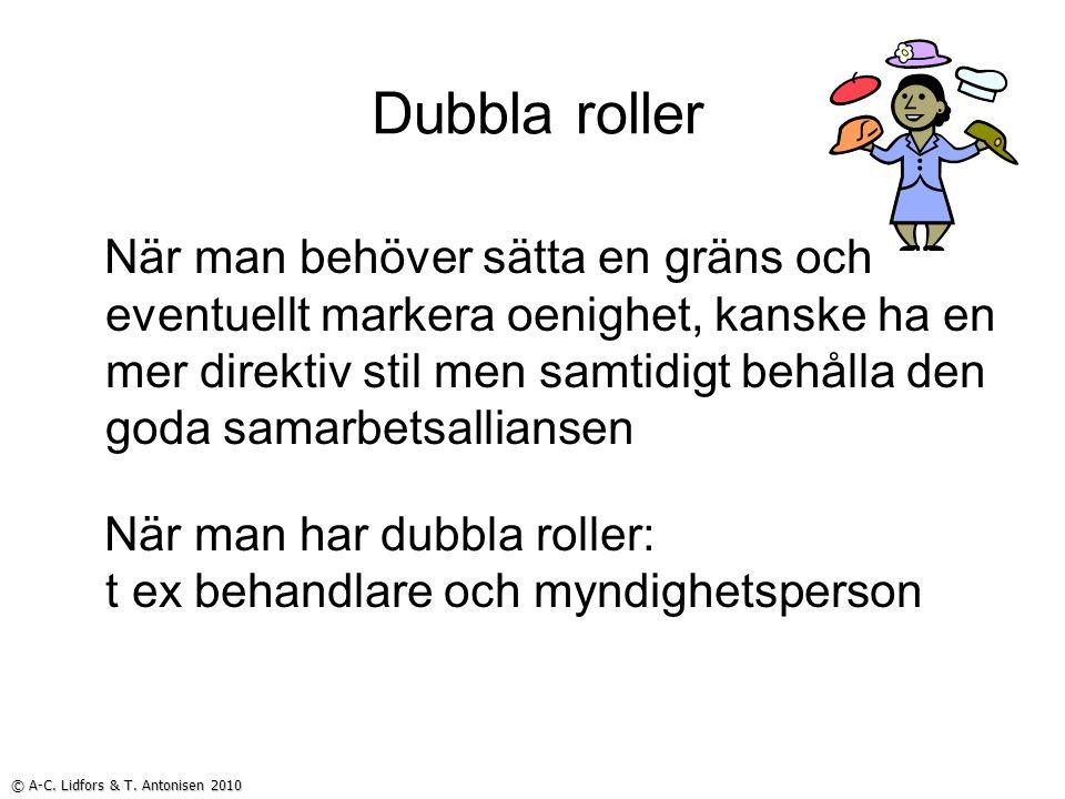 Dubbla roller