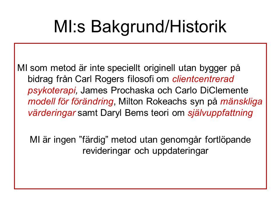 MI:s Bakgrund/Historik