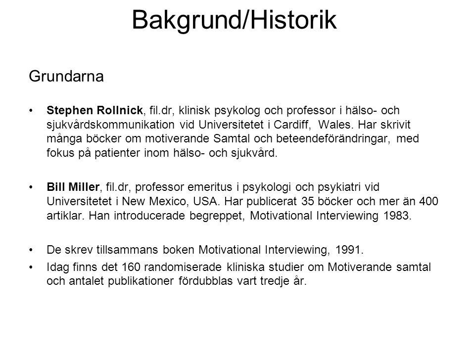 Bakgrund/Historik Grundarna