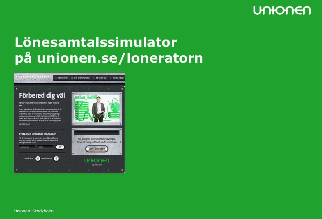 Lönesamtalssimulator på unionen.se/loneratorn