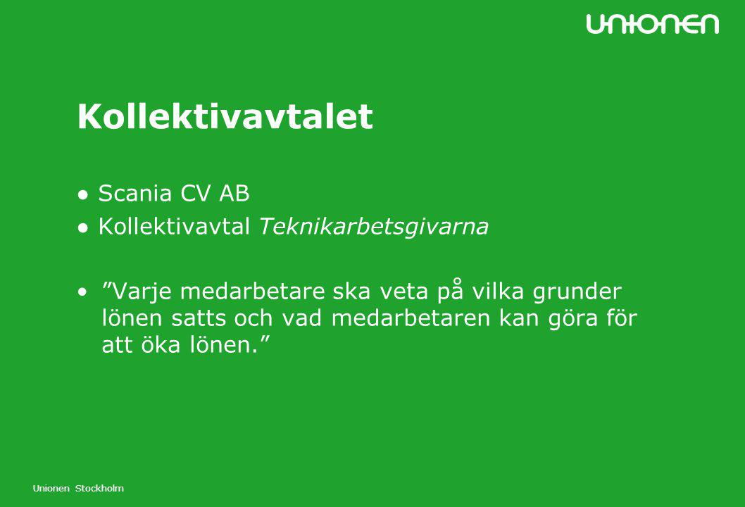 Kollektivavtalet ● Scania CV AB ● Kollektivavtal Teknikarbetsgivarna