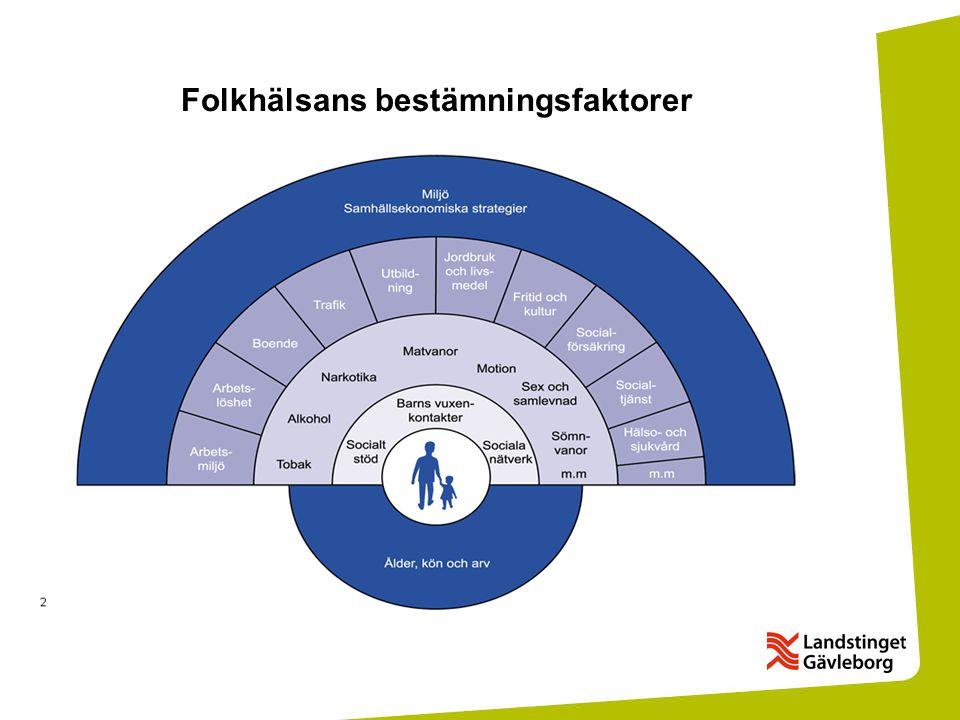 Folkhälsans bestämningsfaktorer