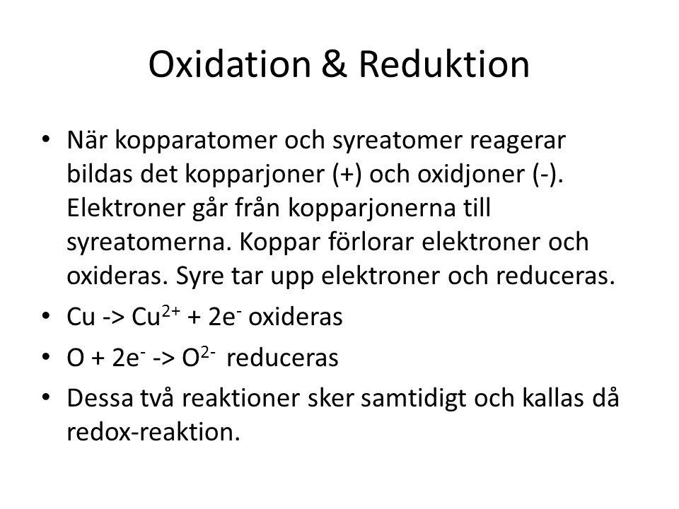 Oxidation & Reduktion
