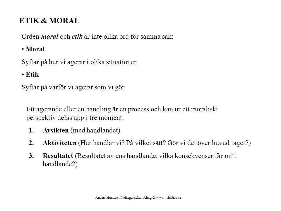 Anders Hummel, Nolhagaskolan, Alingsås – www.lektion.se