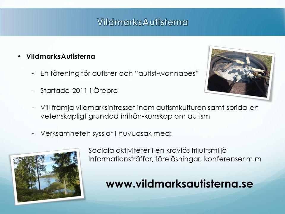 www.vildmarksautisterna.se VildmarksAutisterna VildmarksAutisterna