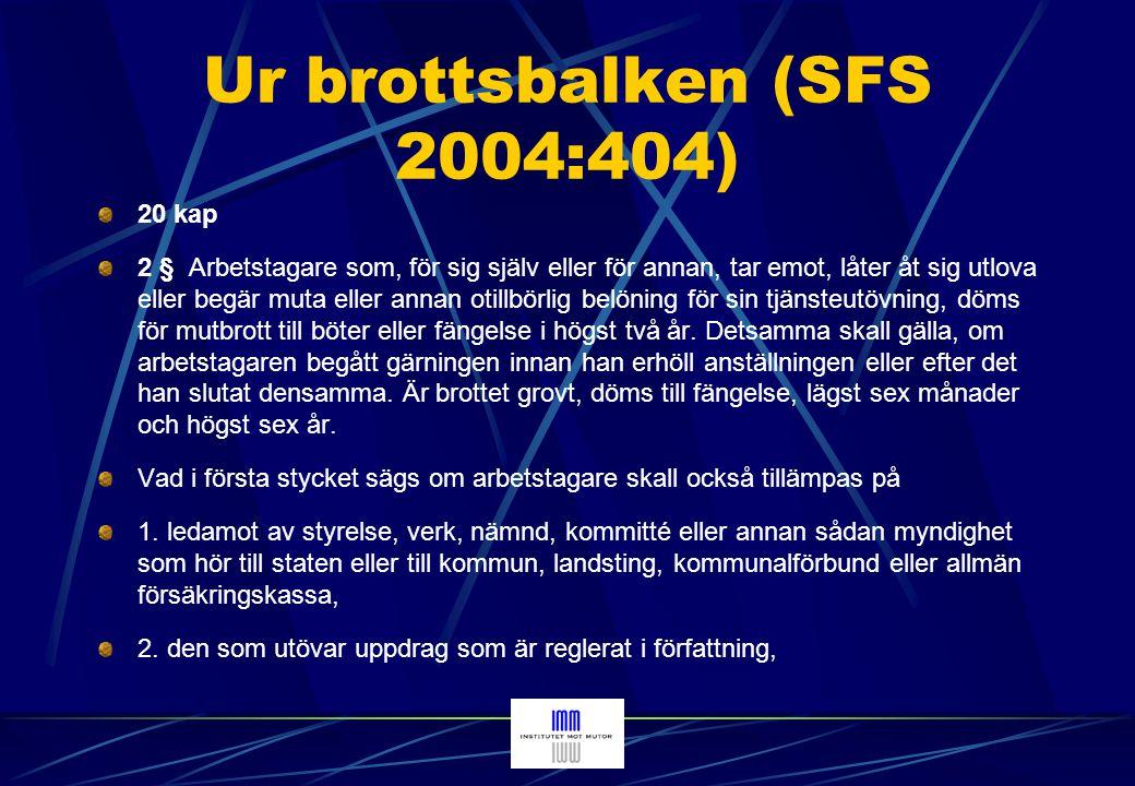 Ur brottsbalken (SFS 2004:404)