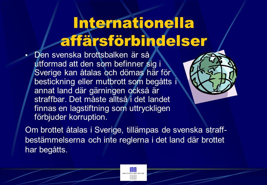 Internationella affärsförbindelser