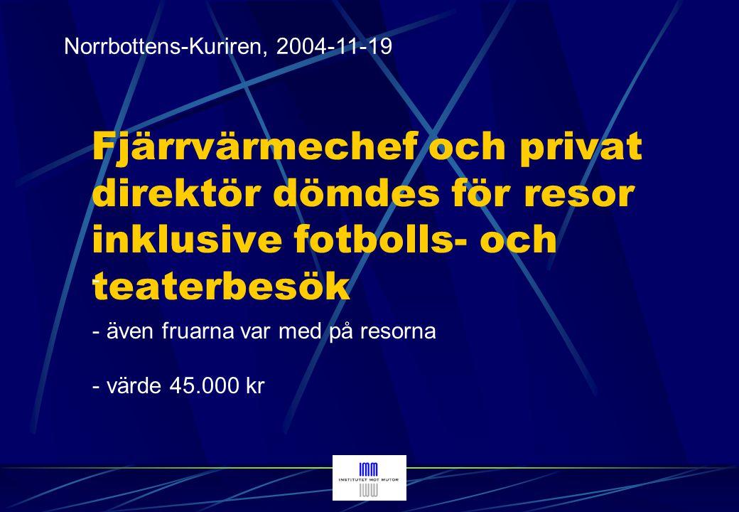 Norrbottens-Kuriren, 2004-11-19