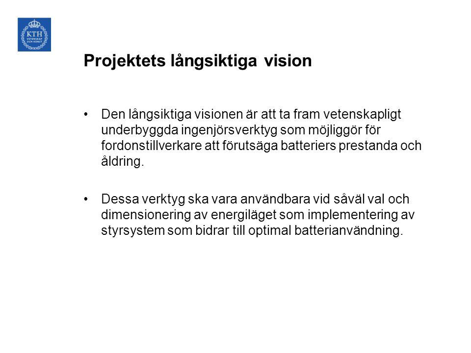 Projektets långsiktiga vision