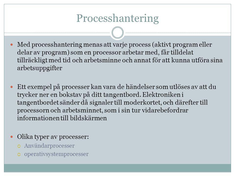 Processhantering