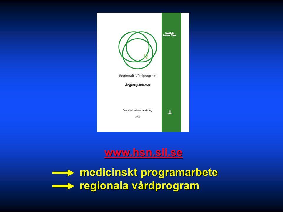 medicinskt programarbete regionala vårdprogram
