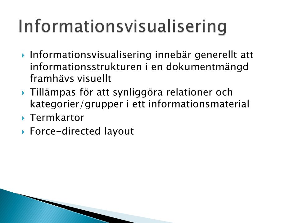 Informationsvisualisering
