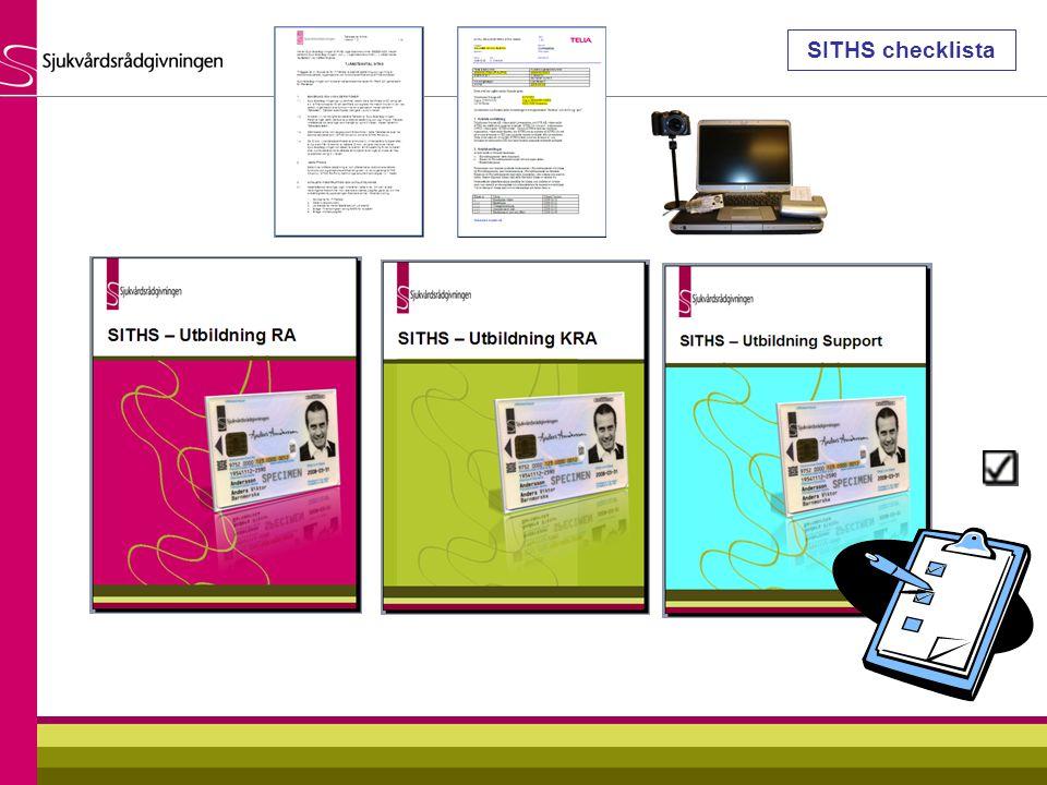 SITHS checklista