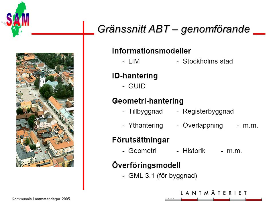 Gränssnitt ABT – genomförande