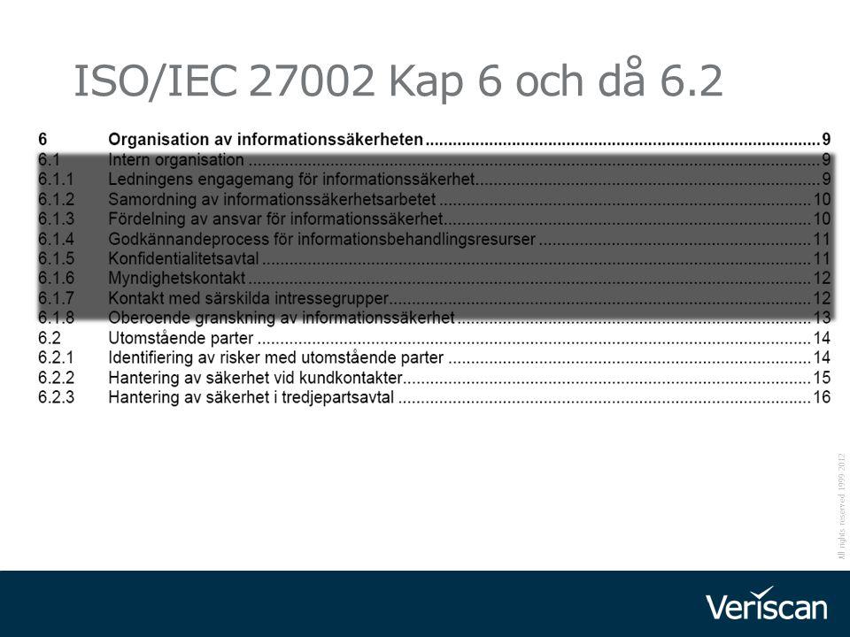 2017-04-07 ISO/IEC 27002 Kap 6 och då 6.2