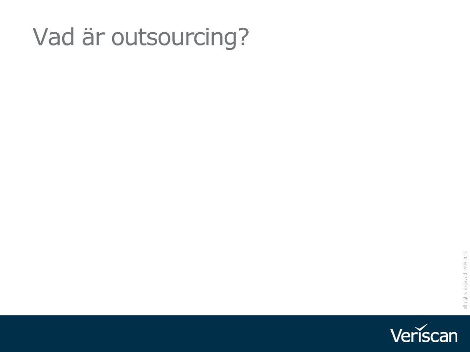 Vad är outsourcing