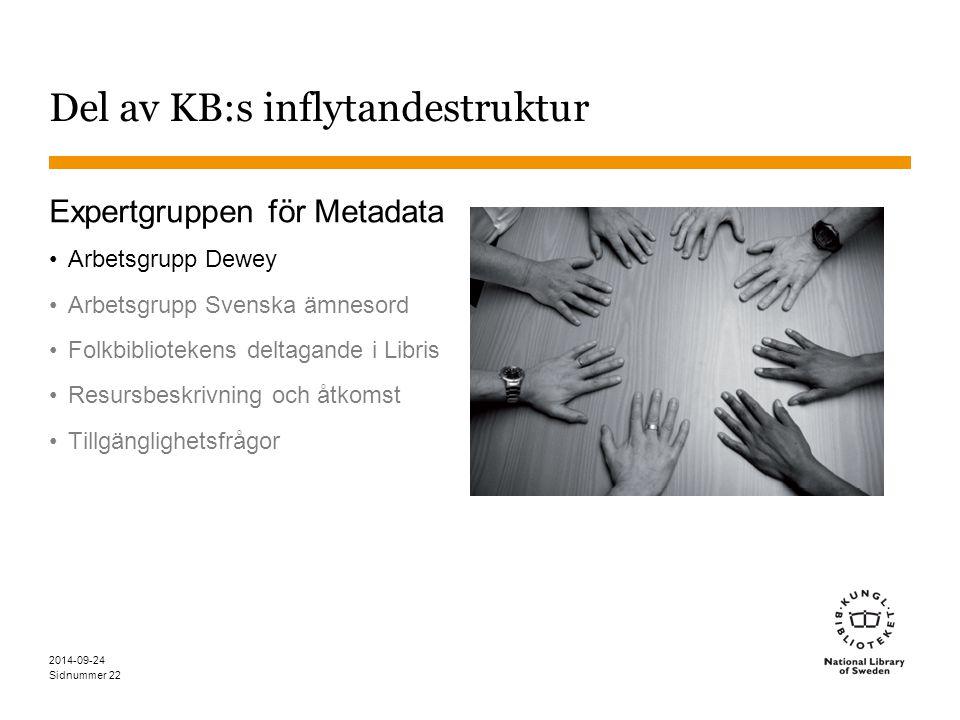 Del av KB:s inflytandestruktur