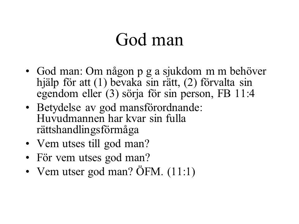 God man