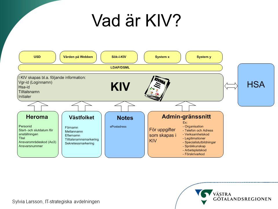 Vad är KIV