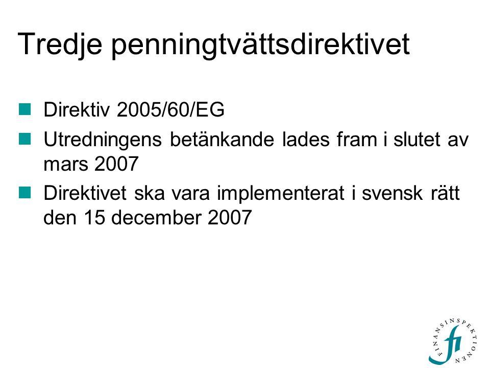 Tredje penningtvättsdirektivet