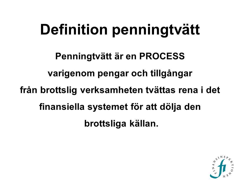 Definition penningtvätt