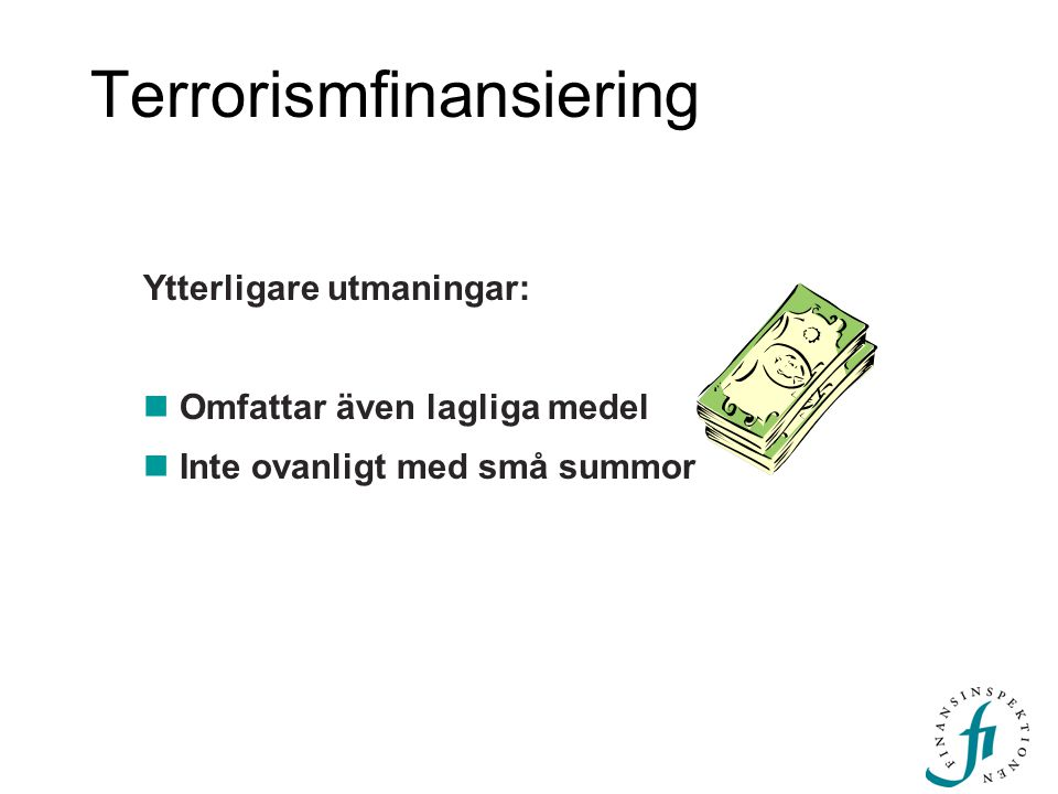 Terrorismfinansiering