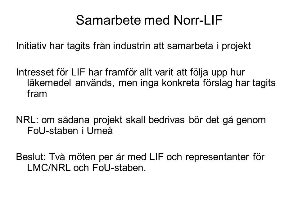 Samarbete med Norr-LIF