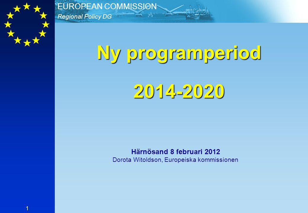 Härnösand 8 februari 2012 Dorota Witoldson, Europeiska kommissionen