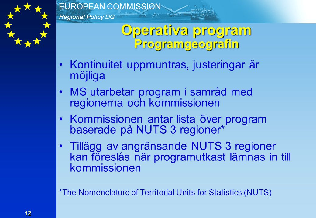 Operativa program Programgeografin