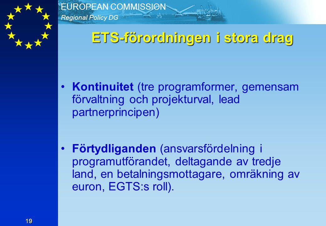 ETS-förordningen i stora drag