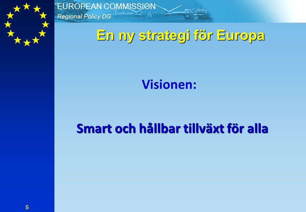 En ny strategi för Europa