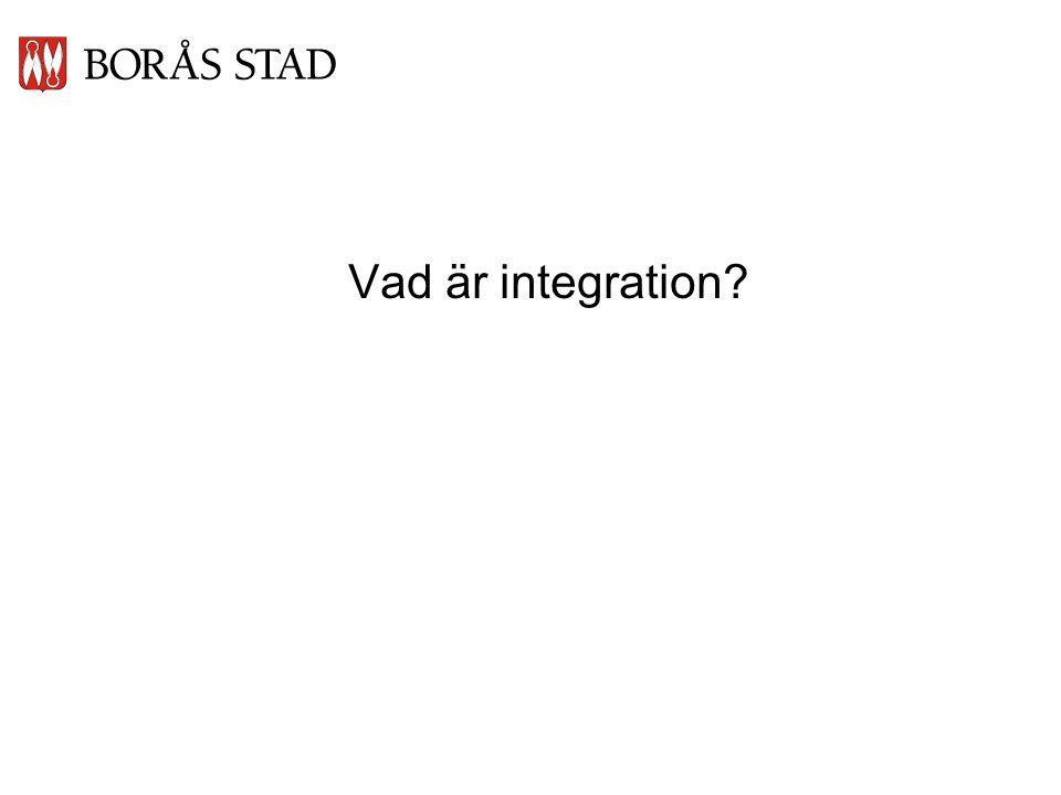 Vad är integration