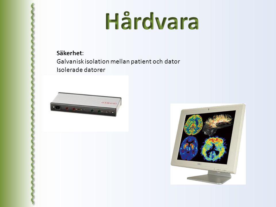 Hårdvara Säkerhet: Galvanisk isolation mellan patient och dator