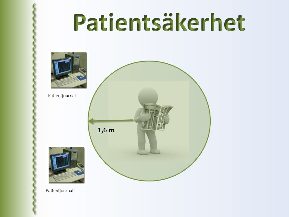 Patientsäkerhet Patientjournal 1,6 m Patientjournal