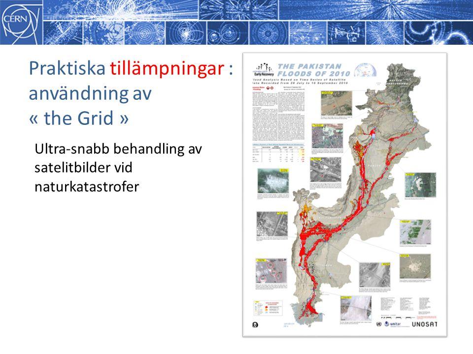 Praktiska tillämpningar : användning av « the Grid »