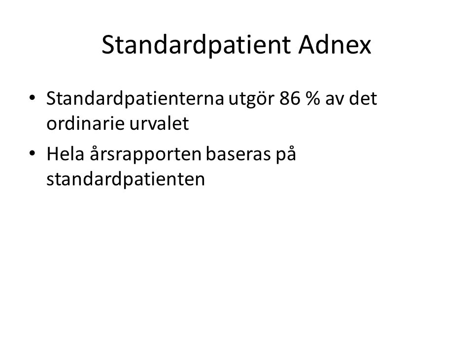 Standardpatient Adnex