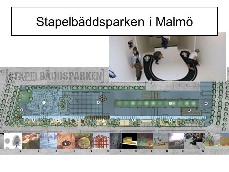 Stapelbäddsparken i Malmö
