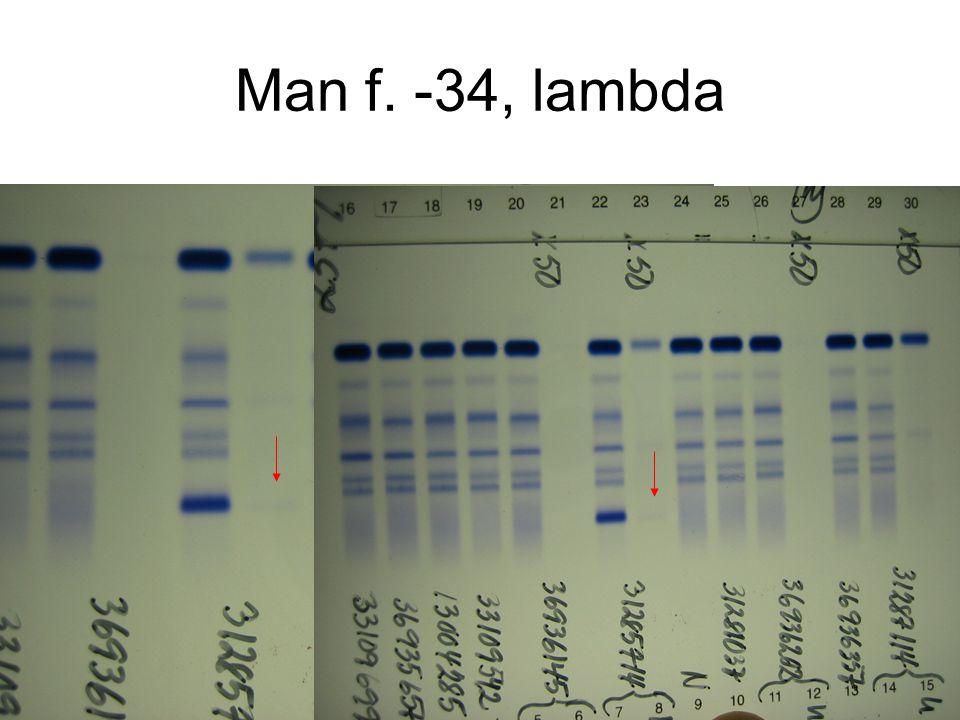 Man f. -34, lambda