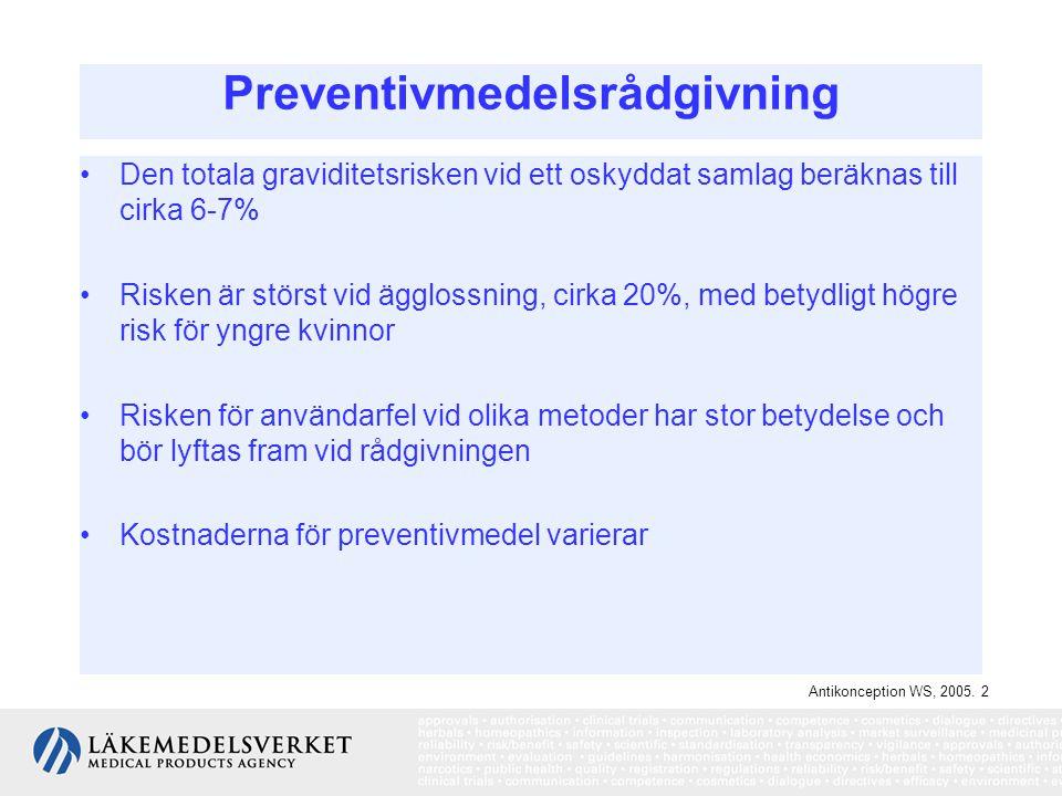 Preventivmedelsrådgivning