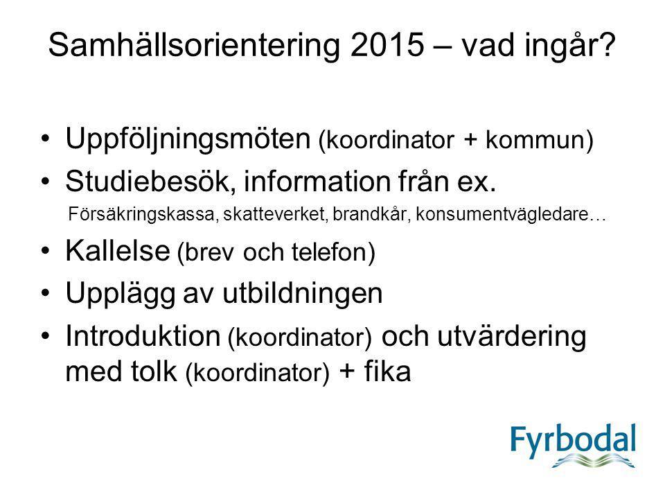 Samhällsorientering 2015 – vad ingår