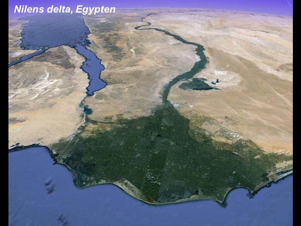 Nilens delta, Egypten Johan Kleman, Professor, Instutitionen för naturgeografi och kvartärgeologi.