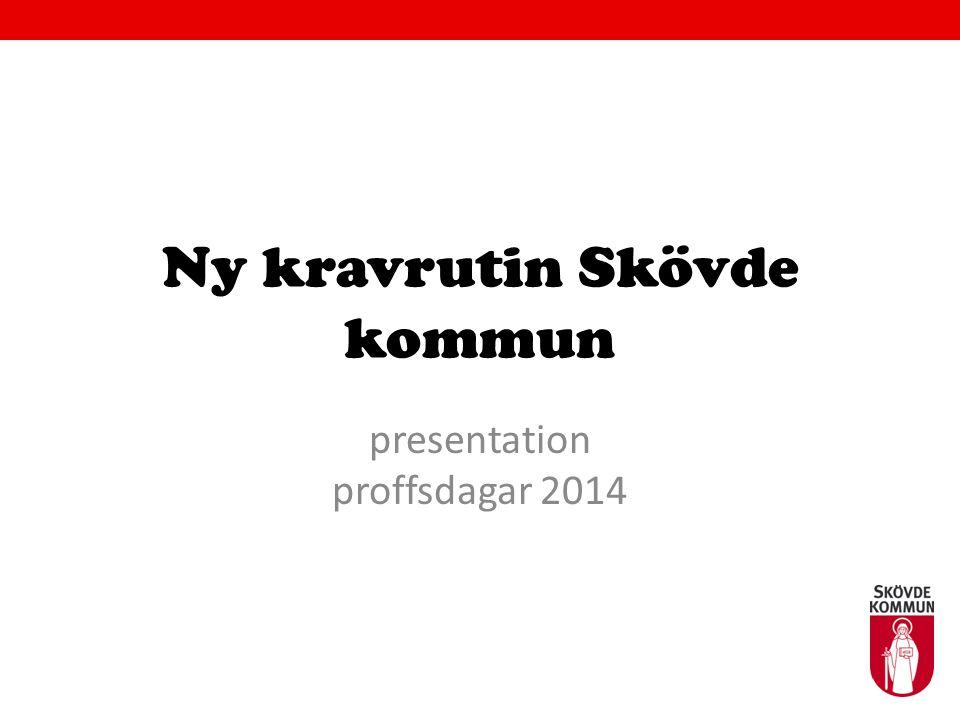 Ny kravrutin Skövde kommun