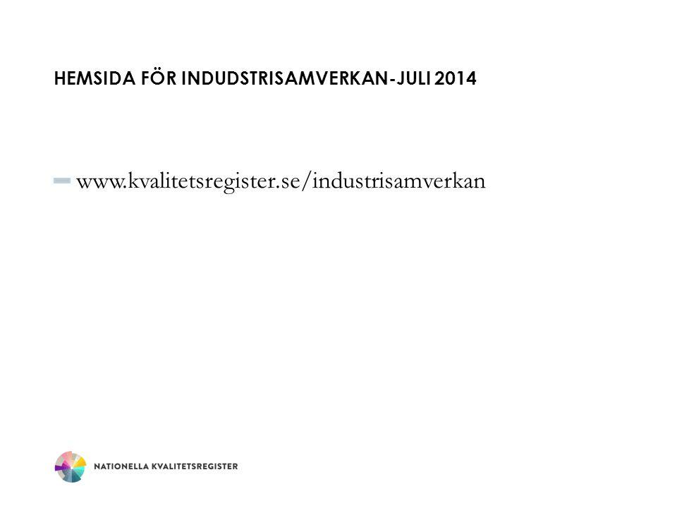 Hemsida för indudstrisamverkan-Juli 2014