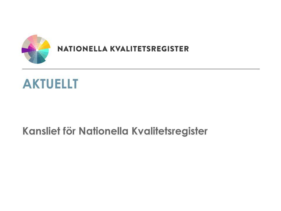 Kansliet för Nationella Kvalitetsregister