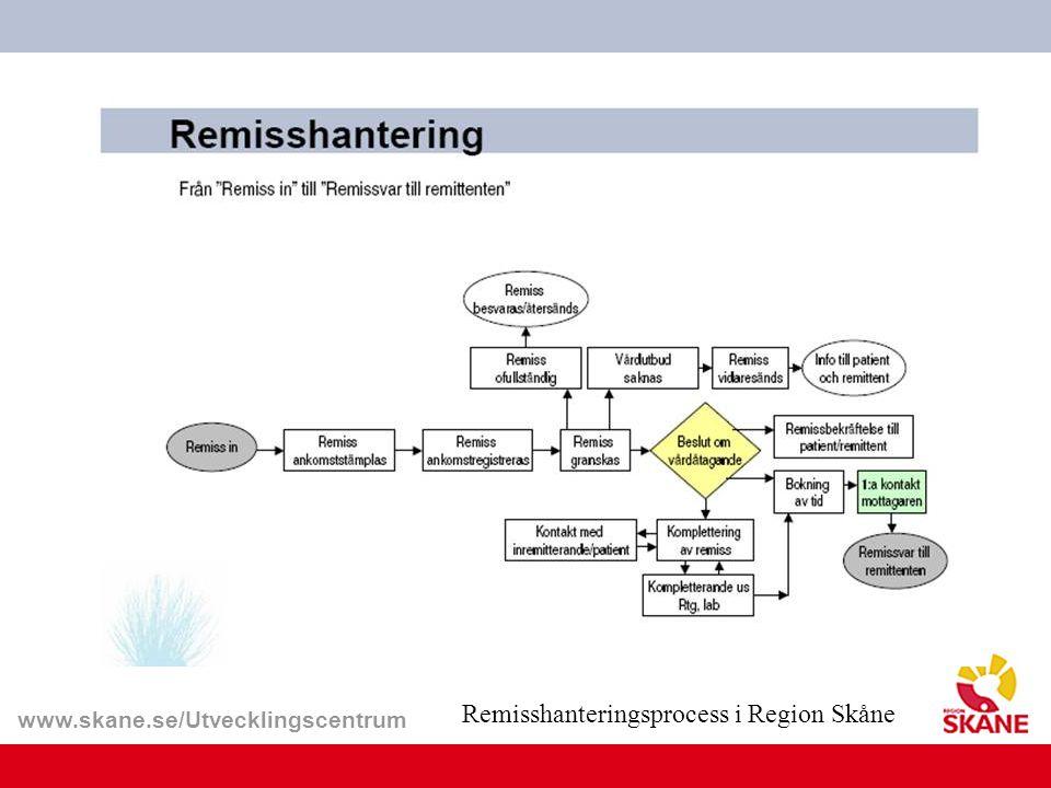 Remisshanteringsprocess i Region Skåne