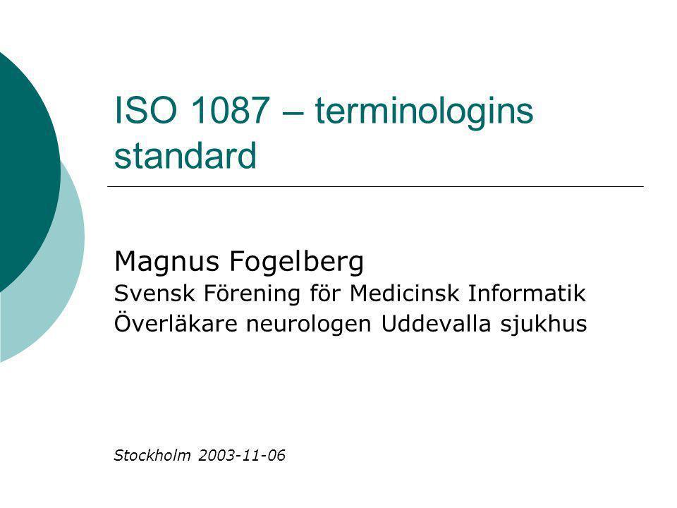 ISO 1087 – terminologins standard