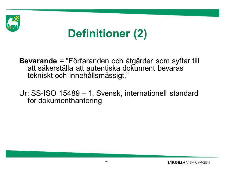 Definitioner (2)