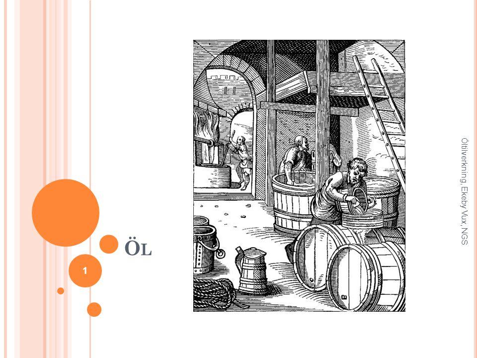 Öl Öltilverkning, Ekeby Vux, NGS